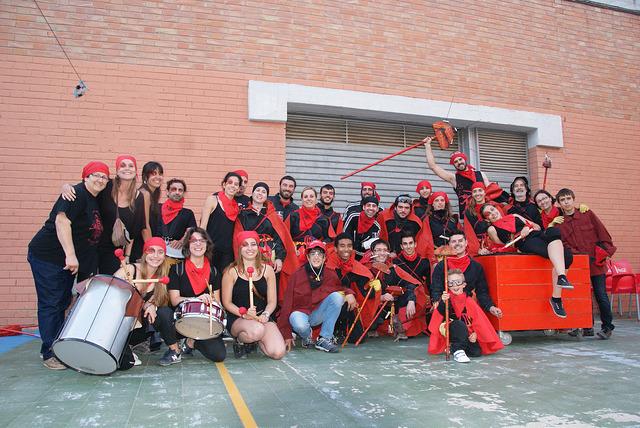 Correfoc a Sabadell