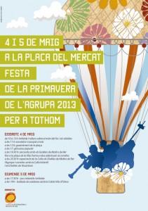 cartell festa de la Primavera 2013