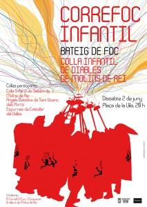 poster diables colla infantil_1